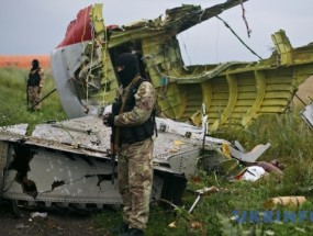 Boeing-777 de Malaysia Airlines, derribado por Rusia en Ucrania en 2014.