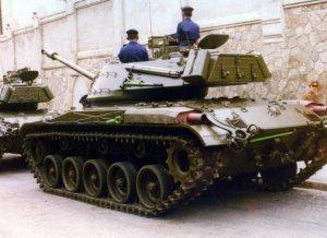 Tanque M41 Walker Bulldog español