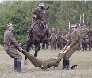Demostración de la caballeria polaca, 2000