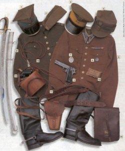 Uniforme de oficial de la caballería polaca, 1939