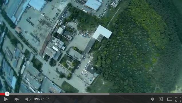 Video tomado por un UAV ucraniano, sobre las posiciones rusas