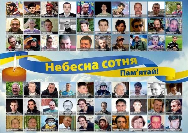 """Durante la Revolución de la Dignidad (Euromaidan), cayeron más de un centenar de activistas ucranianos, llamados hoy """"La Centura Celestial"""""""