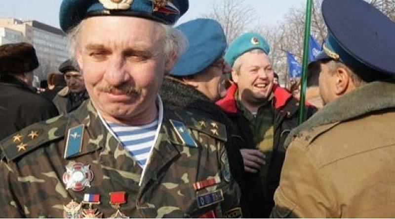 Homenaje en Ucrania a veteranos de conflictos locales