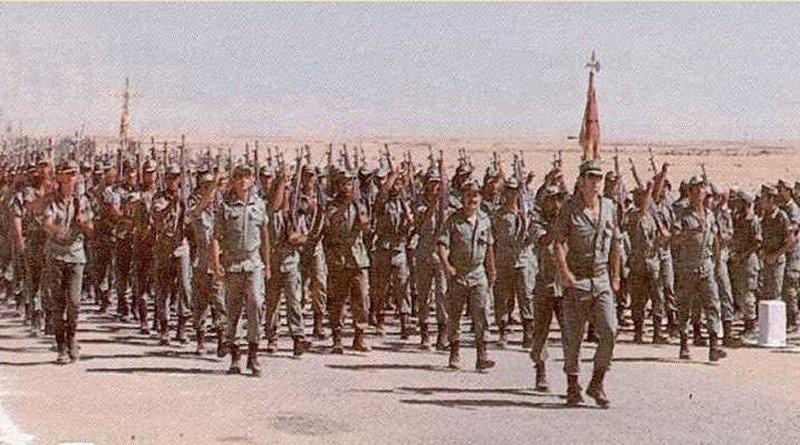 Ejército español en Sahara occidental, 1976