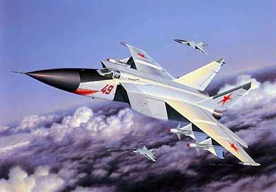 Fuerza Aérea Soviética 1918-1991 Mikoyan-MiG-25-foxbat-1