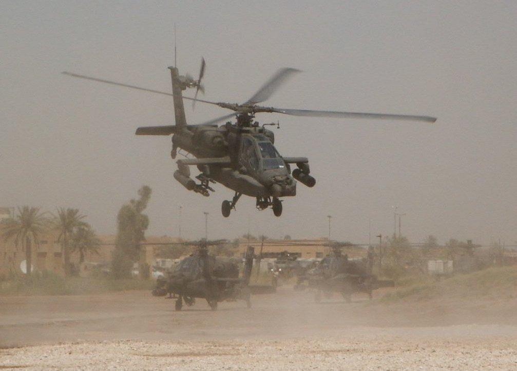 DOMINGO, 4 DE ABRIL DE 2004 (2º PARTE) -EL LADO ESPAÑOL- BATALLA DE AN NAJAF Iraq-AH-64