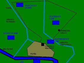 Los Tercios espanoles. La batalla de Pavia