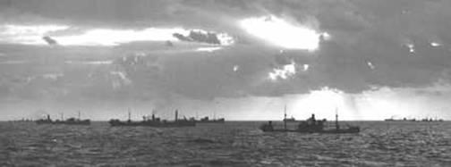 Submarinos alemanes y americanos en la Segunda Guerra Mundial
