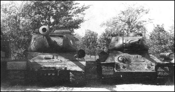 Tanque ruso vs tanque aleman