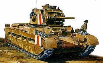 Los tanques ingleses en la Segunda Guerra Mundial